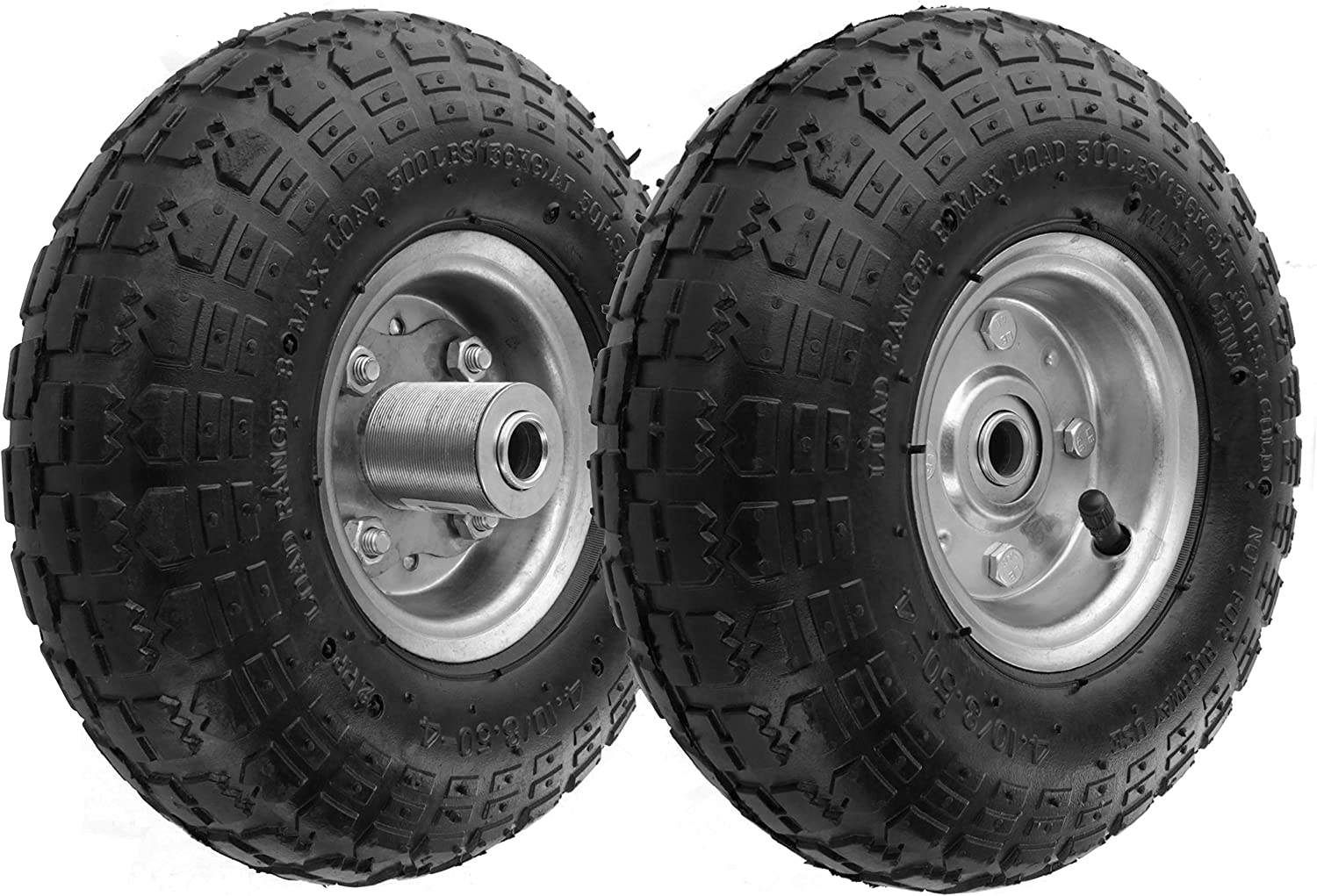 RamPro All-Purpose Utility Wheels - Best For Install
