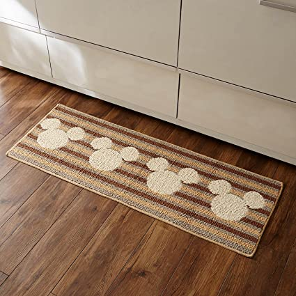 Amazon Co Jp Belle Maison Disney Kitchen Mat Washable Anti Slip Made In Japan Beige Approx 17 7 X 7 1 Inches 45 X 180 Mm Home Kitchen