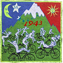 ImZauberwald LSD Party ~7 inch handmade Albert Hofmann Bicycleday embroidery