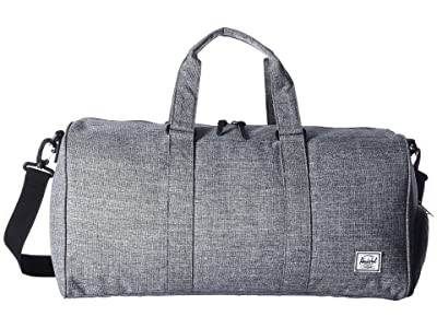 Herschel Supply Co. Novel Mid-Volume (Raven Crosshatch) Duffel Bags