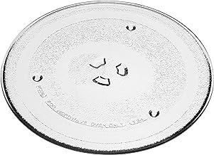 vhbw Placa de microondas compatible con Samsung MW733K-B MW733K-B/XEO, MW733KR MW733KR/BWT, MW733KU MW733KU/BWT microondas
