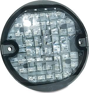 Kuryakyn 5429 Motorcycle Lighting: Flat Style Panacea Rear Turn Signal/Blinker LED Light Inserts for 1994-2013 Harley-Davidson Motorcycles,  Smoke Lens,  1 Pair