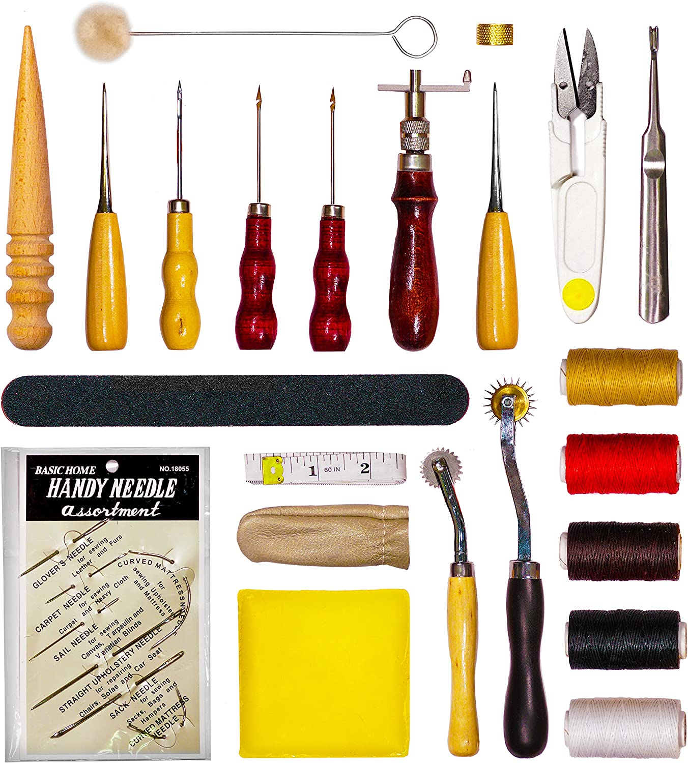 VViViD 28pcs Leather Sewing and Ranking TOP17 Stitching C Set Tool for High order