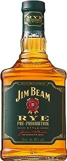 Jim Beam Rye Whiskey, würziger Geschmack mit kräftigem Roggenaroma, 40% Vol, 1 x 0,7l