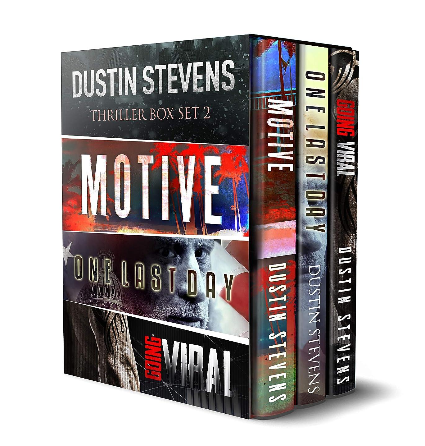 無駄だ画像消費者Thriller Box Set 2: Motive - One Last Day - Going Viral (English Edition)