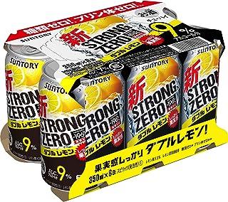 サントリーチューハイ -196℃ ストロングゼロ Wレモン 350ml×6本