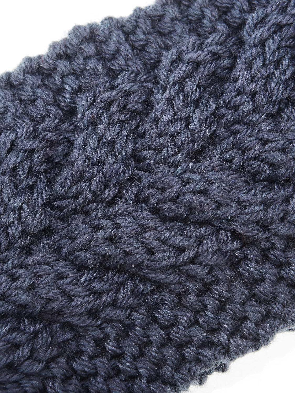 4 Pieces Winter Ear Warmers Headbands Women Warm Knitted Headband Braided Crochet Head Wraps for Girls