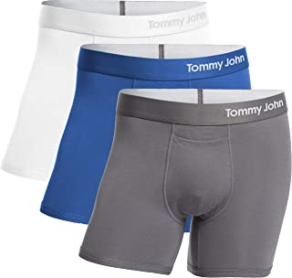 Men's Cool Cotton Trunks - 3 Pack - Comfortable Breathable Boxer Brief Underwear for Men