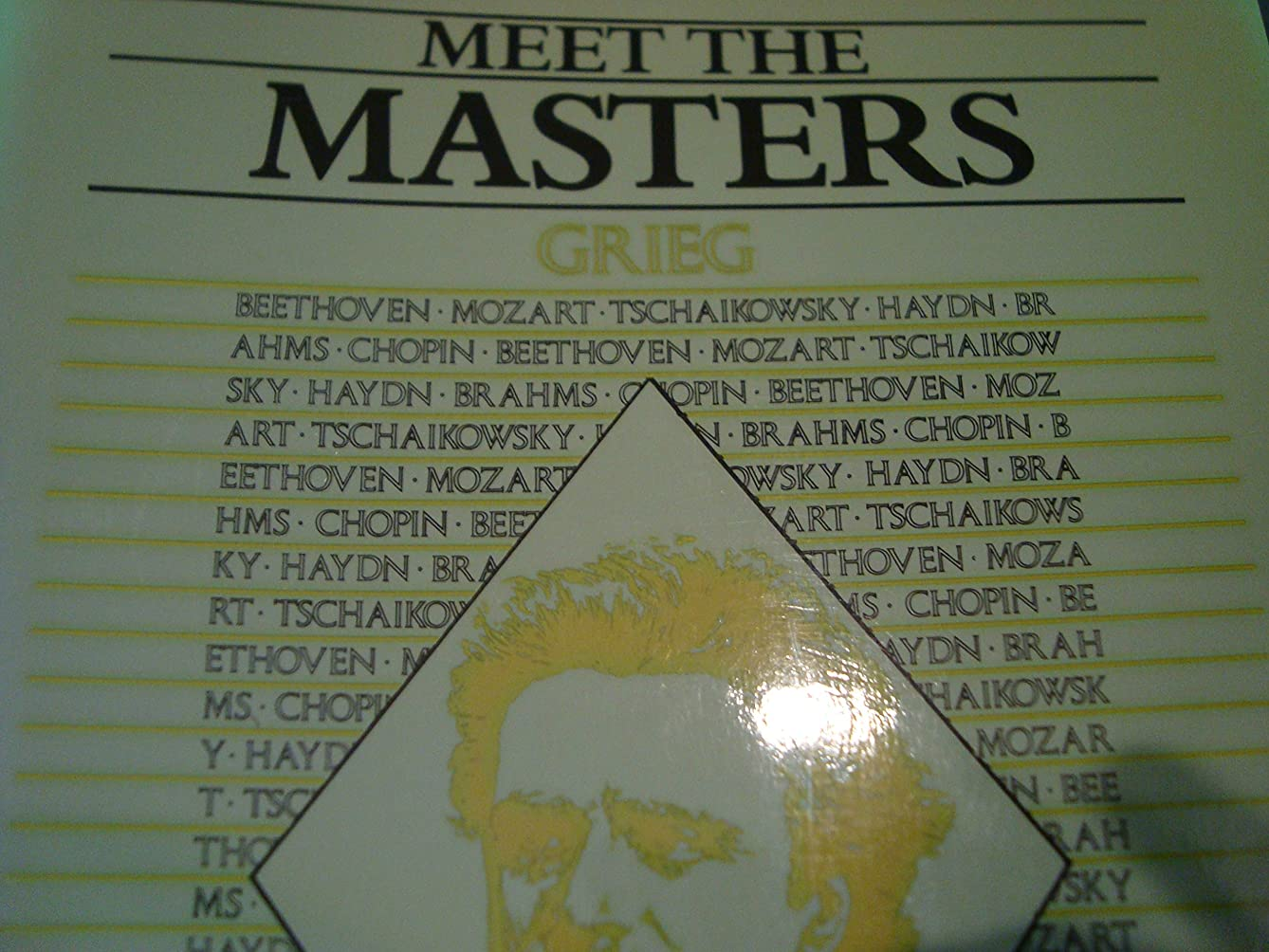 Meet the Masters / Grieg / for Piano Solo