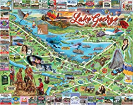 White Mountain Puzzles Lake George Jigsaw Puzzle - 1000 Piece Jigsaw Puzzle