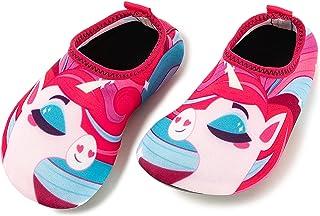 حذاء سباحة للاطفال الصغار من جويان، احذية مائية للاطفال سريعة الجفاف، احذية سباحة مضادة للانزلاق جوارب مائية للاولاد والبن...