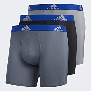 adidas, Men's Sport Performance Climalite Boxer Brief (3-Pack) Ropa Interior Hombre