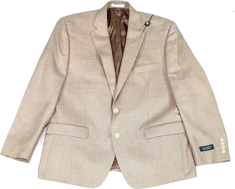 Ralph Lauren Mens Beige Sport Coat 42R