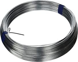 OOK 534806 Galvanized Steel Wire (#16) 200', 1 Pack, 1, White