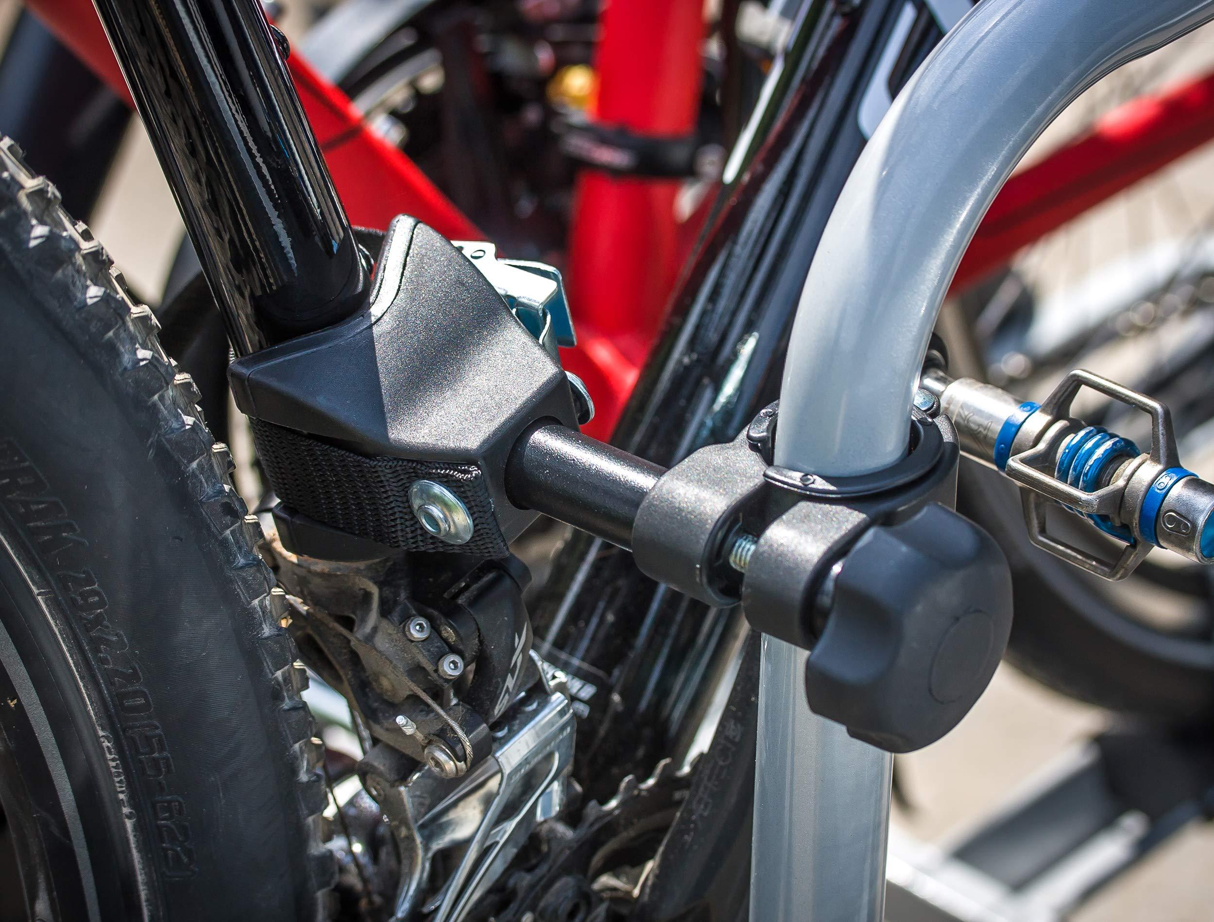 Eufab 11412 Bike Three - Portabicicletas: Amazon.es: Coche y moto