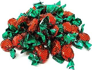 Candy Retailer Strawberry Filled Bon Bons Hard Candy 3LB Bag