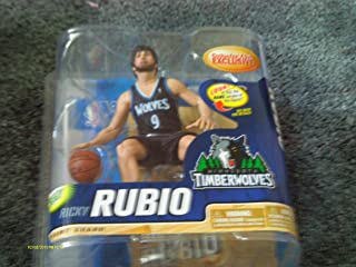 McFarlane RICKY RUBIO collectors club Exclusive NBA series 22 Rookie figure Minnesota Timberwolves #9 point guard