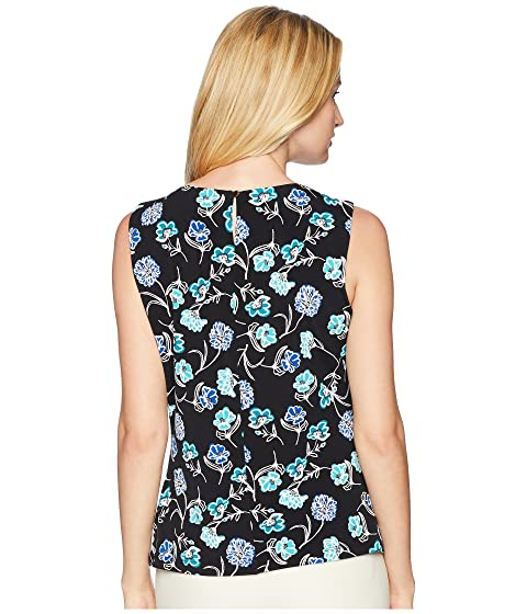 Klein Cami Neck Calvin Printed Pleat 8qdwwPFpx