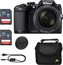 Executive Prices, Classic Bundle for Nikon B500 Coolpix Camera (Black)