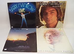 Barry Manilow Lot of 4 Vinyl Record Albums Even Now and more