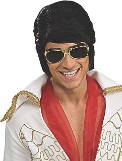 Rubie's Costume Elvis Wig and Glasses Accessory Set