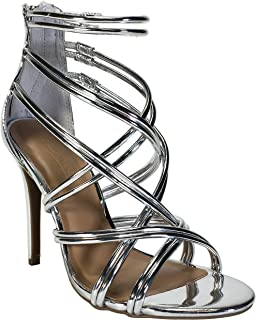 Best silver cage heels Reviews