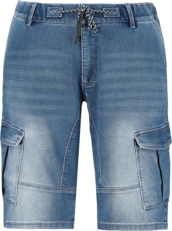JP 1880 Menswear Big & Tall Plus Size L-8XL Loose Fit Cargo Shorts FLEXNAMIC 723422