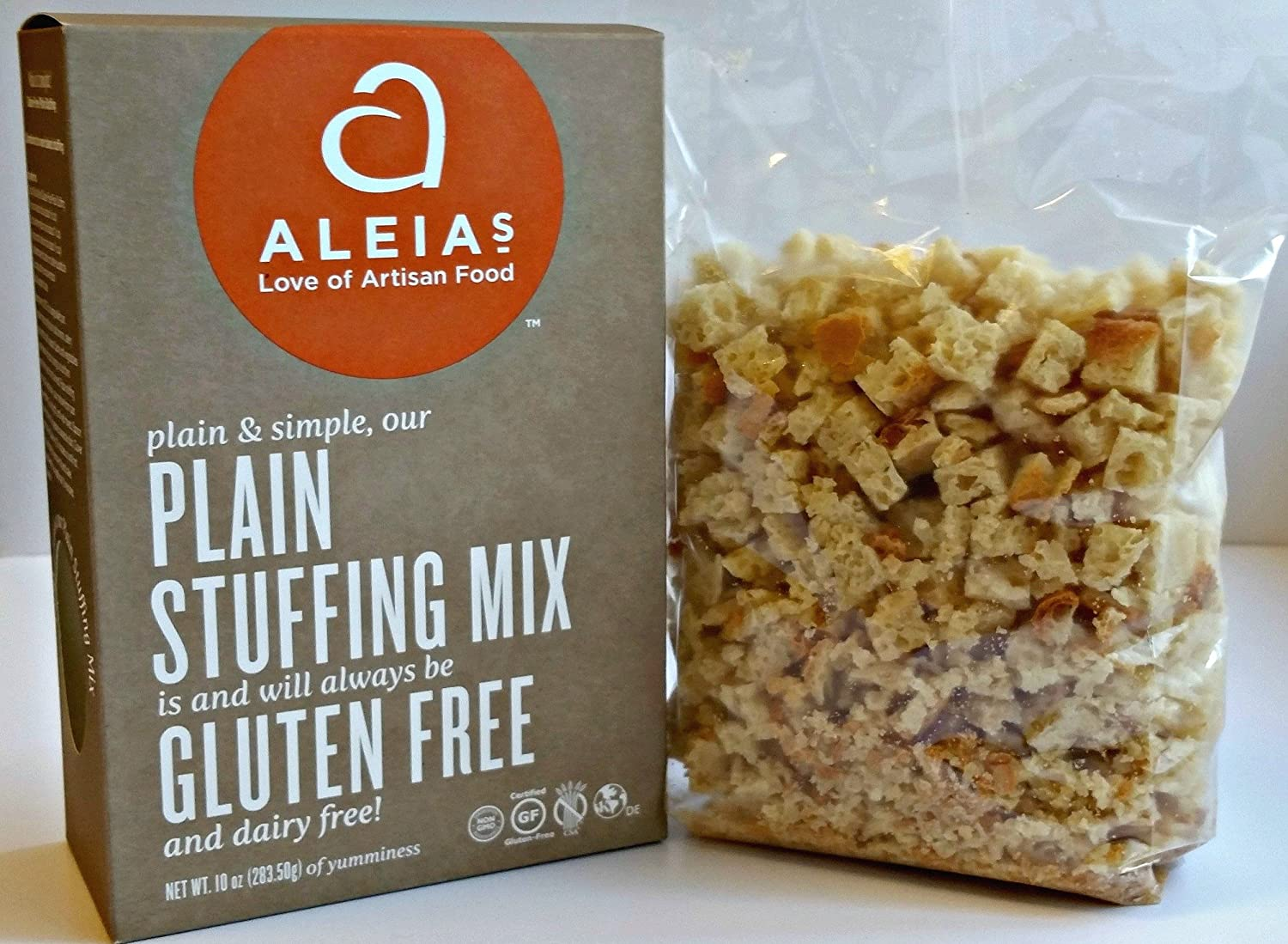 Aleia's Gluten Finally resale start Max 86% OFF Free Plain Stuffing - 1 Pack
