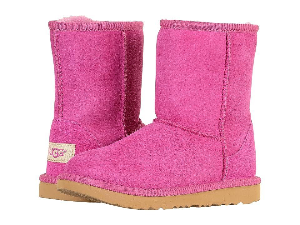 UGG Kids Classic II (Little Kid/Big Kid) (Magenta Rose) Girls Shoes