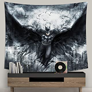 N/M Batman Tapestry Wall Hanging DC Tapestry for Birthday Festival Gifts 60x70in