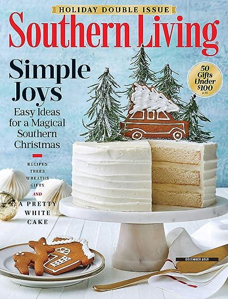 Southern Living 2021 Southern Living® Christmas Cookbook Southern Living Amazon Com Magazines