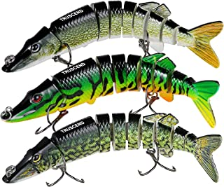 TRUSCEND Fishing Lures for Bass 4.9