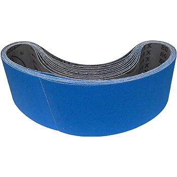 10x Klingspor tissus Schleifband abrasifs cs411y 10x330 mm grain au choix