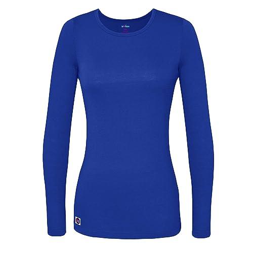 88c350e60b6 Sivvan Women s Comfort Long Sleeve T-Shirt Underscrub Tee