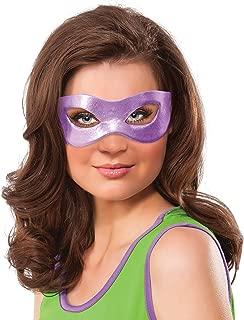 Nickelodeon Rubie's Women's Teenage Mutant Ninja Turtles Classic Donatello Eye Mask, Purple, One Size