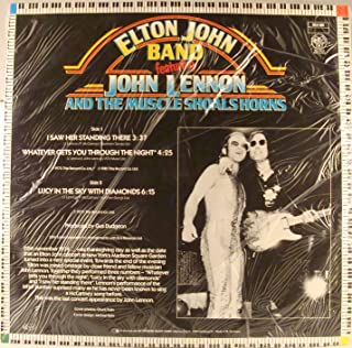 Elton John Band Featuring John Lennon (BEATLES) & Muscle Shoals Horns I Saw Her Standing There German 12