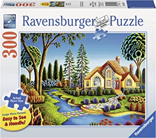Ravensburger Cottage Dream-Large Format 300 Piece Jigsaw Puzzle for Adults – Every Piece is Unique, Softclick Technology Means Pieces Fit Together Perfectly