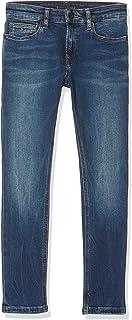 Tommy Hilfiger Steve Slim Tapered Resbst Jeans para Niños