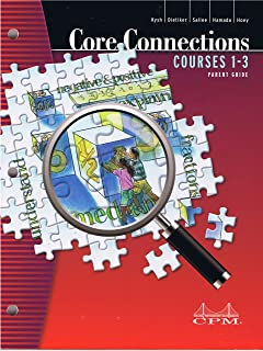 Core Connections Courses 1-3 (Parent Guide with Extra Practice)