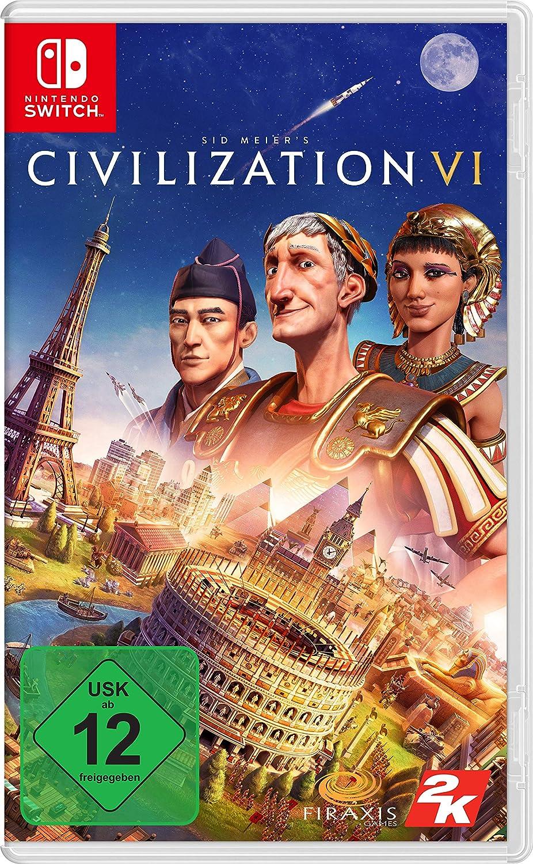 Sid Meier´s Civilization VI (Code-in-a-box) - Nintendo Switch [Importación alemana]