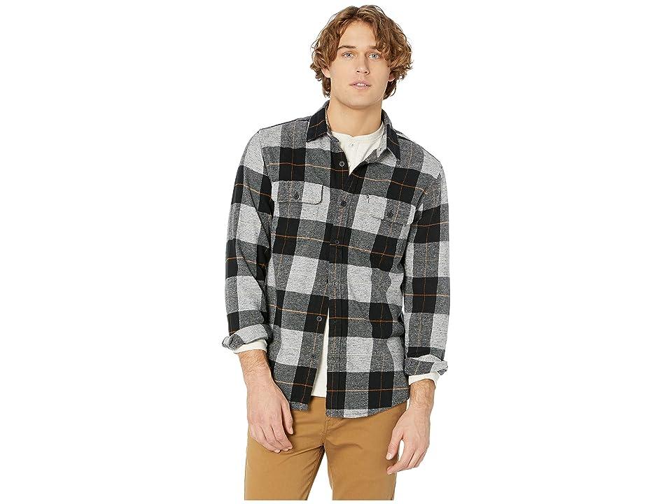 Rip Curl Shoreline Flannel Shirt (Black) Men