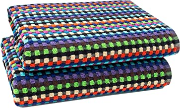 70x140 cm bunt 380g//qm ZOLLNER 2er-Set Duscht/ücher 100/% Baumwolle