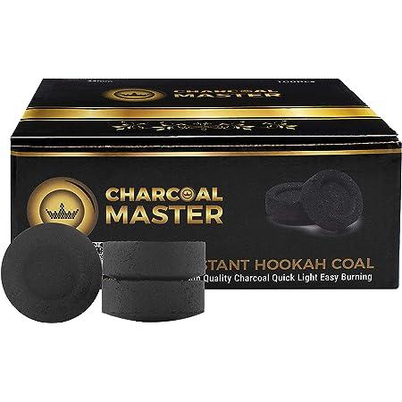 STARLIGHT 100x 40mm Coals//50x Aluminum Foils// 50x Mouth Tips//1 Foil Puncher Set