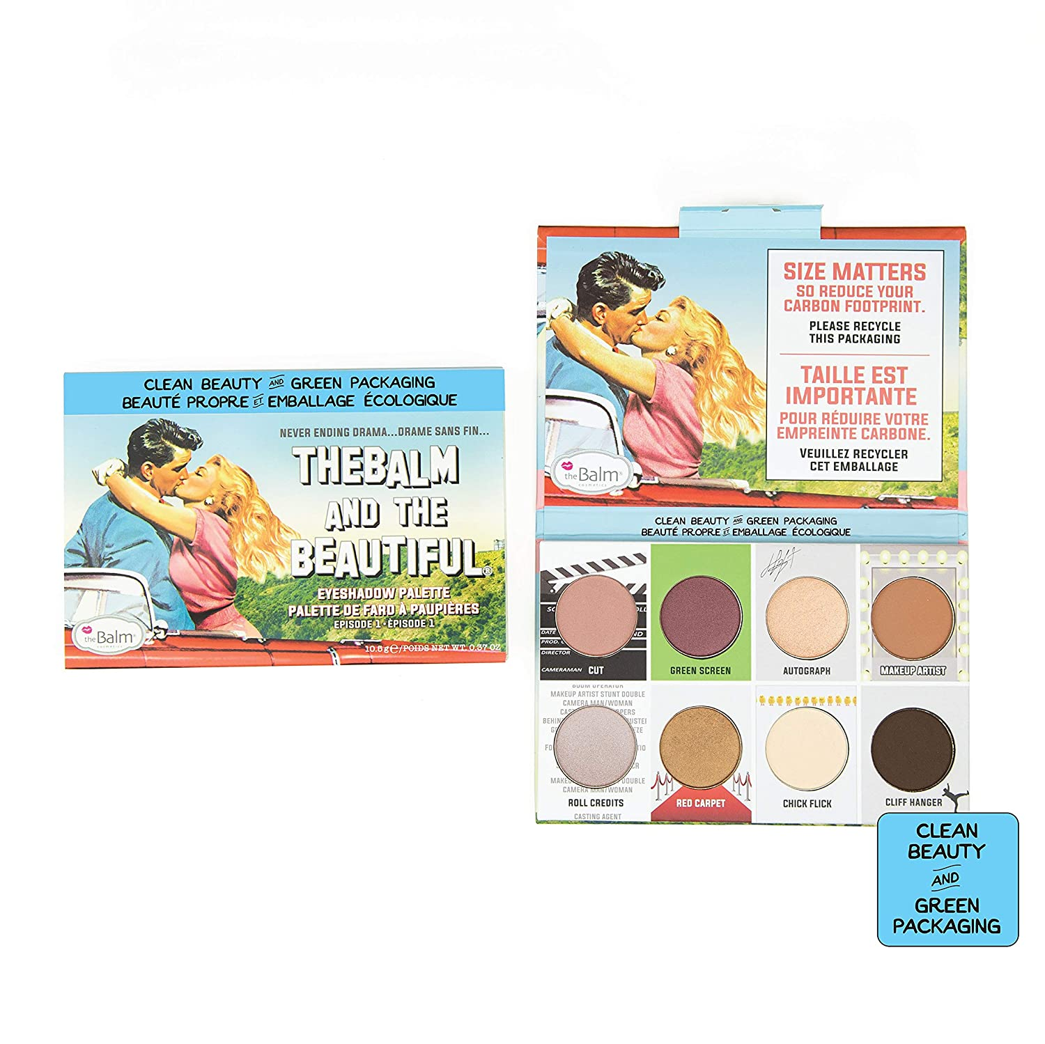 theBalm Clean and Green Very sale popular Pale Beautiful the Eyeshadow