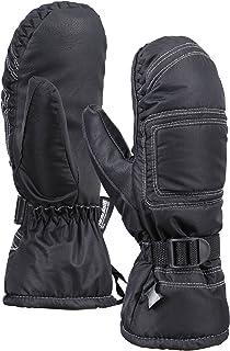 ANDORRA Women's Bohemian Water Resistant Thinsulate Snow Mitten Gloves