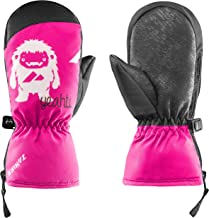 Zanier Unisex Jeugd 12020-6720-2 handschoenen, fuchsia, zwart, 2