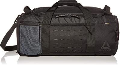 Reebok Training Grip Duffle, Black, One Size