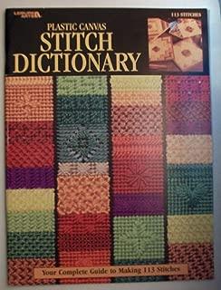 Plastic Canvas Stitch Dictionary Craft Book