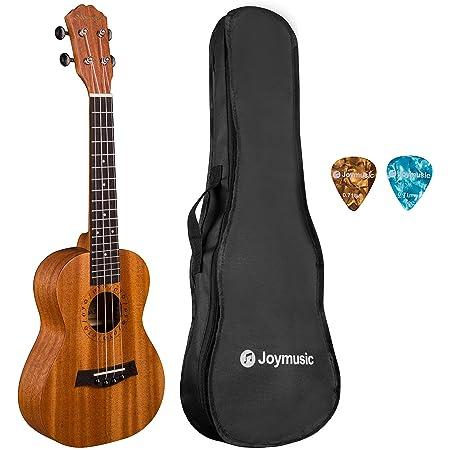 JOYMUSIC, 4-String UK-23S 23 inch Concert Mahogany Ukulele Kit