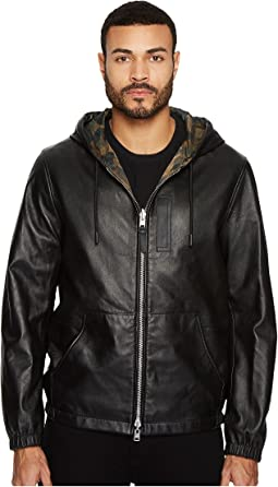 COACH Reversible Hooded Zip Jacket